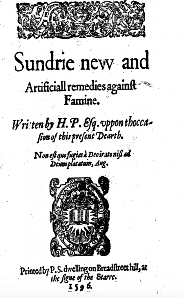 Famine Manual Title Page